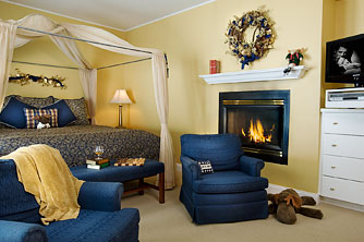 Romantic Stowe Inn – The Catamount Room