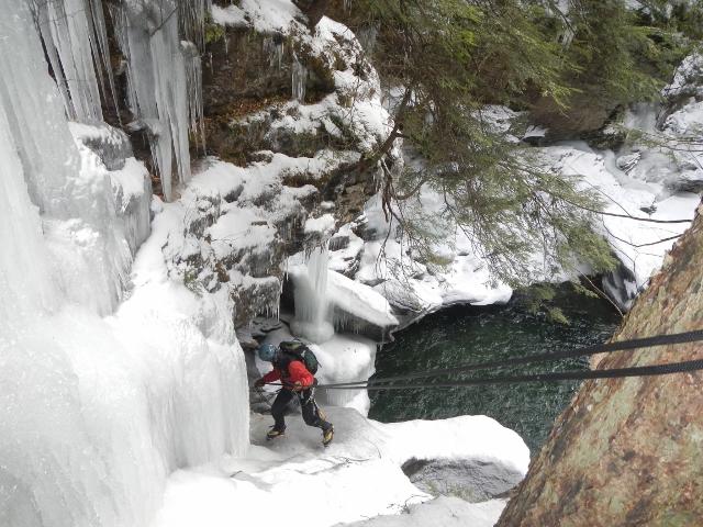 Stowe Ice Climbing