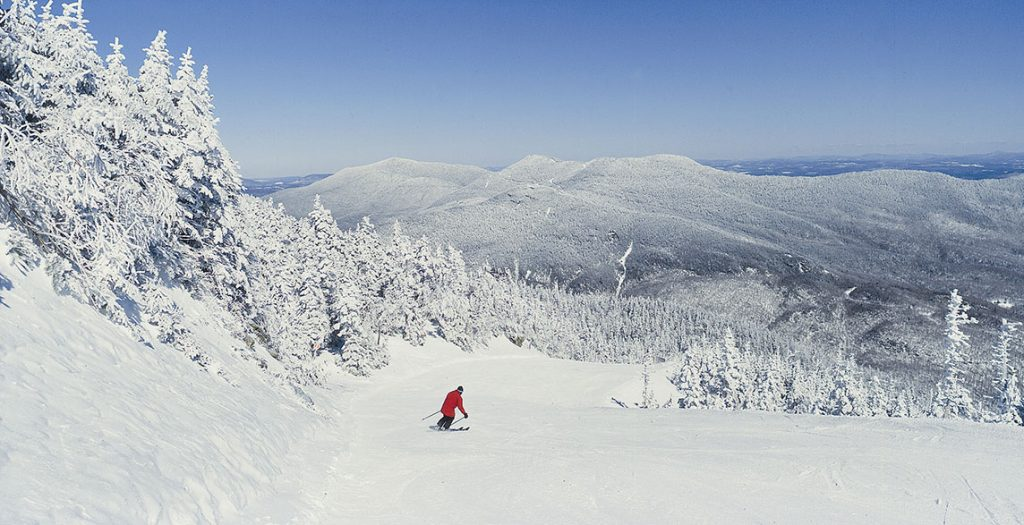 winter activities in Stowe