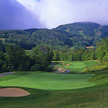 Golfing in Stowe VT