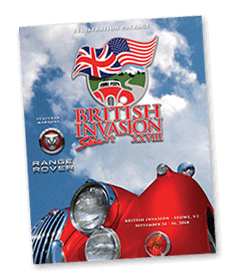 British Invasion - 2018 Schedule of Events