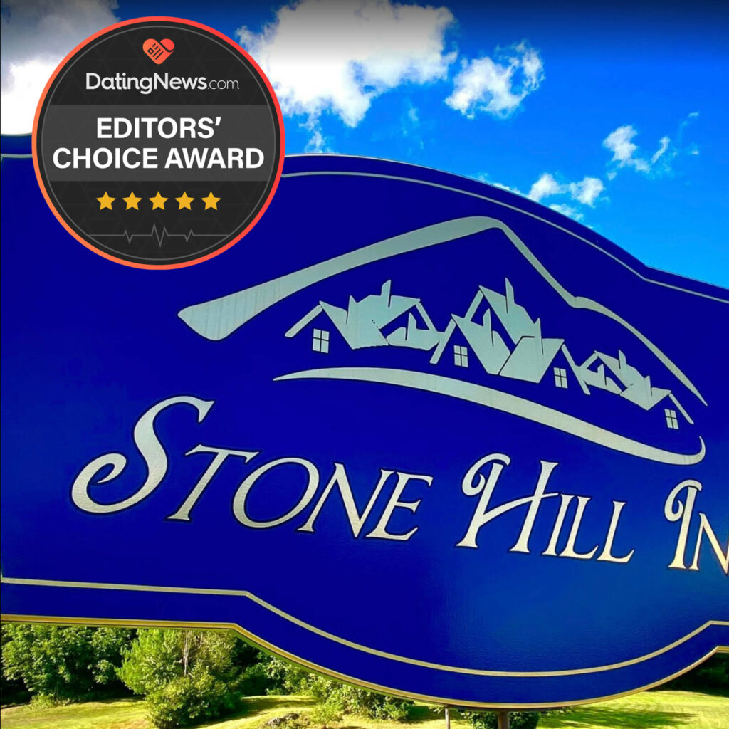 Dating News awards Stone Hill Inn as a romantic couples getaway in New England