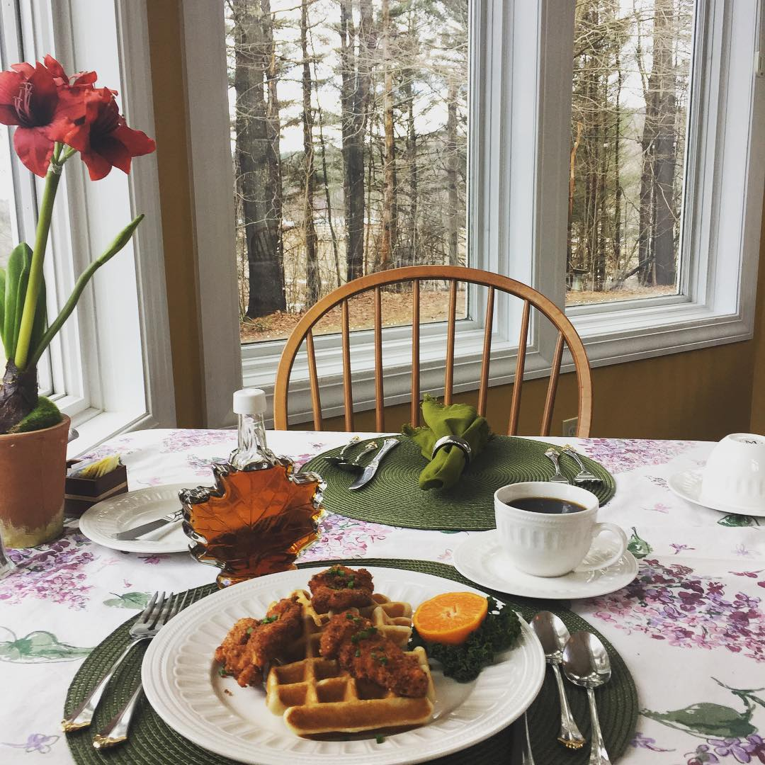 Breakfast at Stone Hill Inn BnB