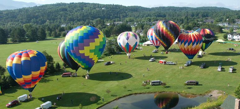 Stowe Hot Air Balloon Festival