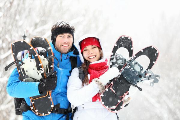 Vermont snowshoeing