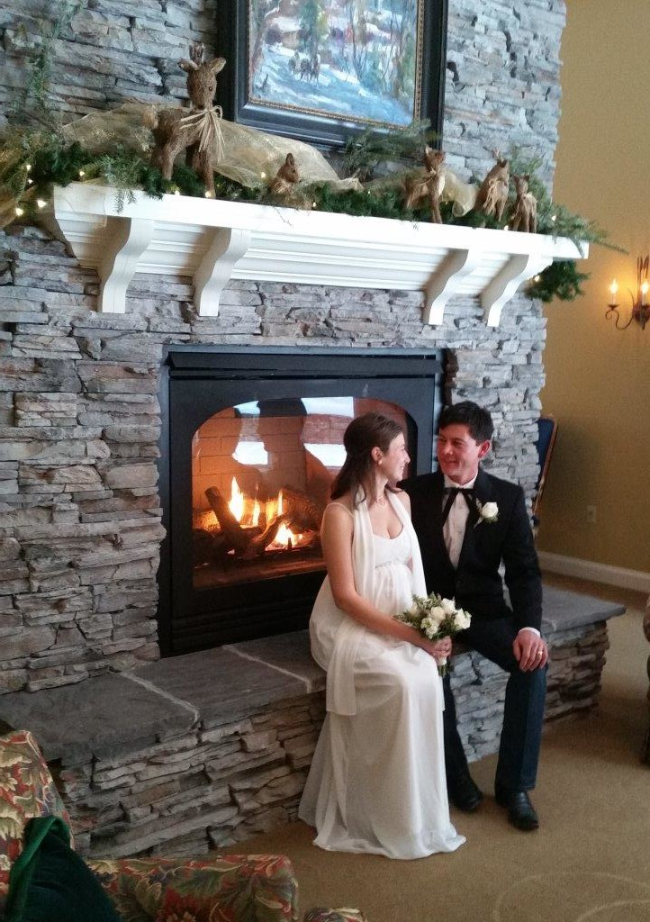 Winter Wedding - Elopement - Stowe Vermont