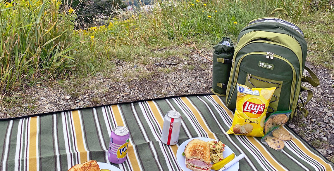 Picnic Lunch in the Mountains
