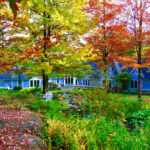 Stone Hill Inn - Bed and Breakfast - Backyard Garden for Weddings and Leisure