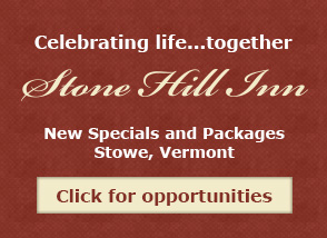 Become a VIP at Stone Hill Inn - Sign Up Now