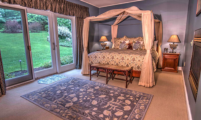romantic bed and breakfast - catamount