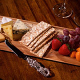 Cheese and fruit board, Stowe, Vermont