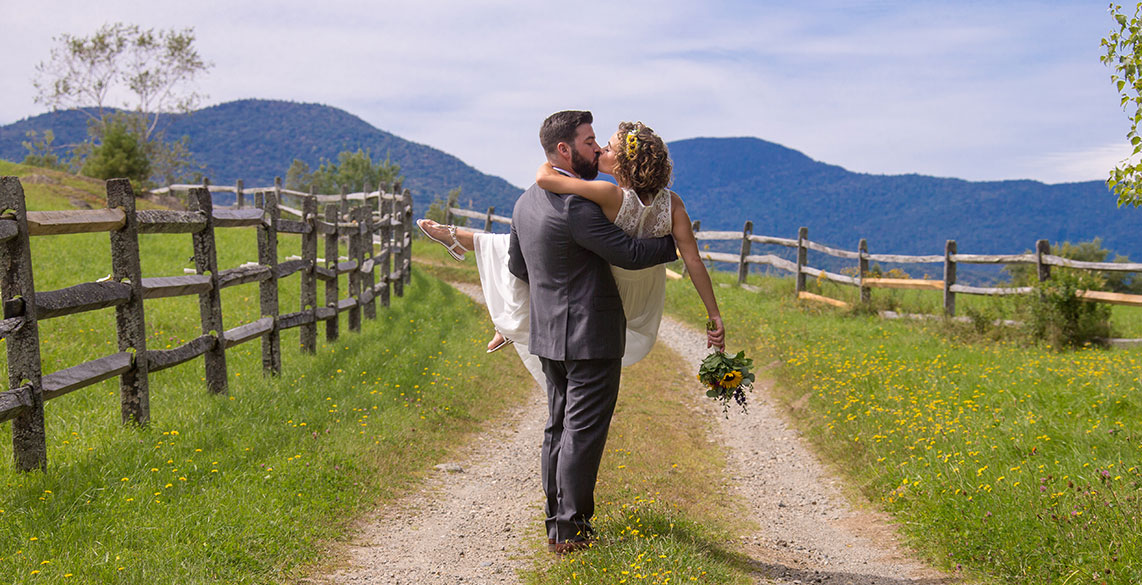 Intimate Wedding in Stowe Vermont