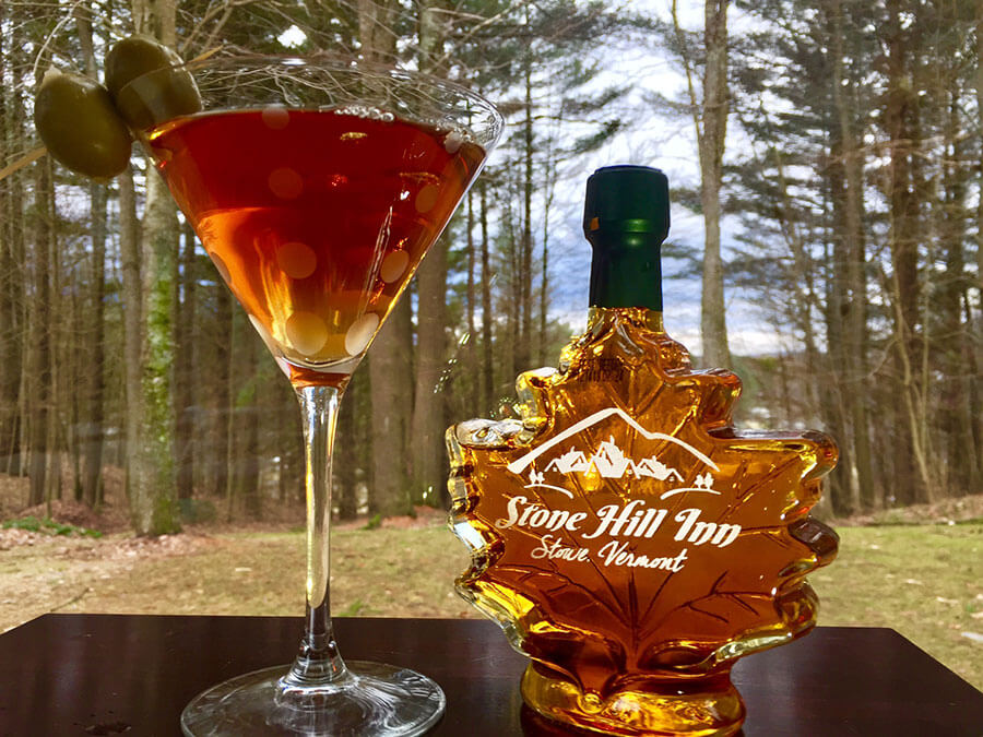 Maple Martini - March Signature Drink