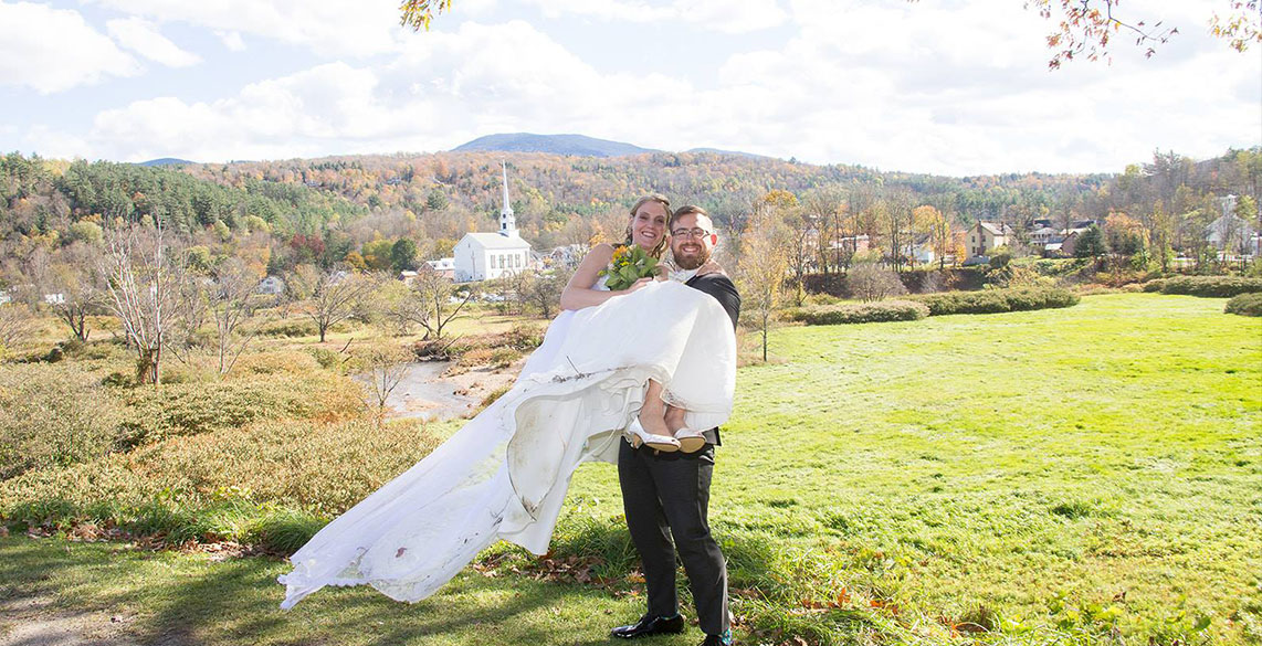 New England Elopement in Stowe Vermont