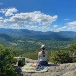 Pinnacle Trail, Stowe Vermont - Hiking picinic