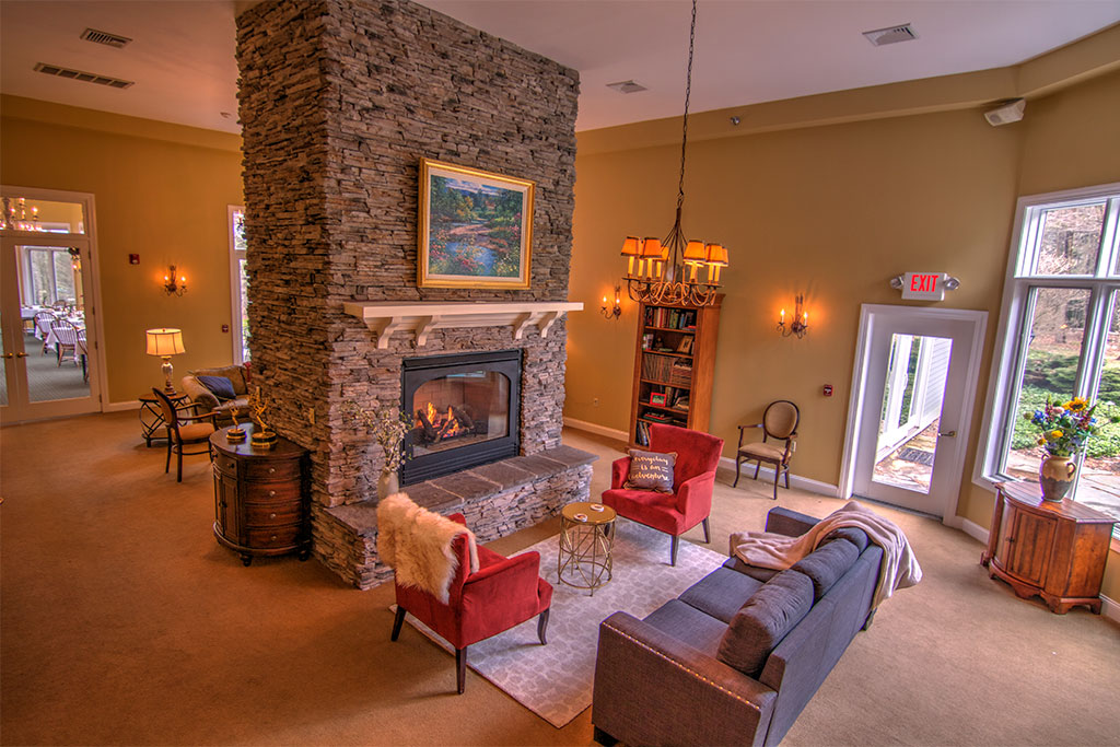 romantic getaway in stowe - stone hill inn lobby
