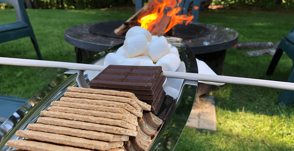 S'mores - Firepit - VT Craft beer package