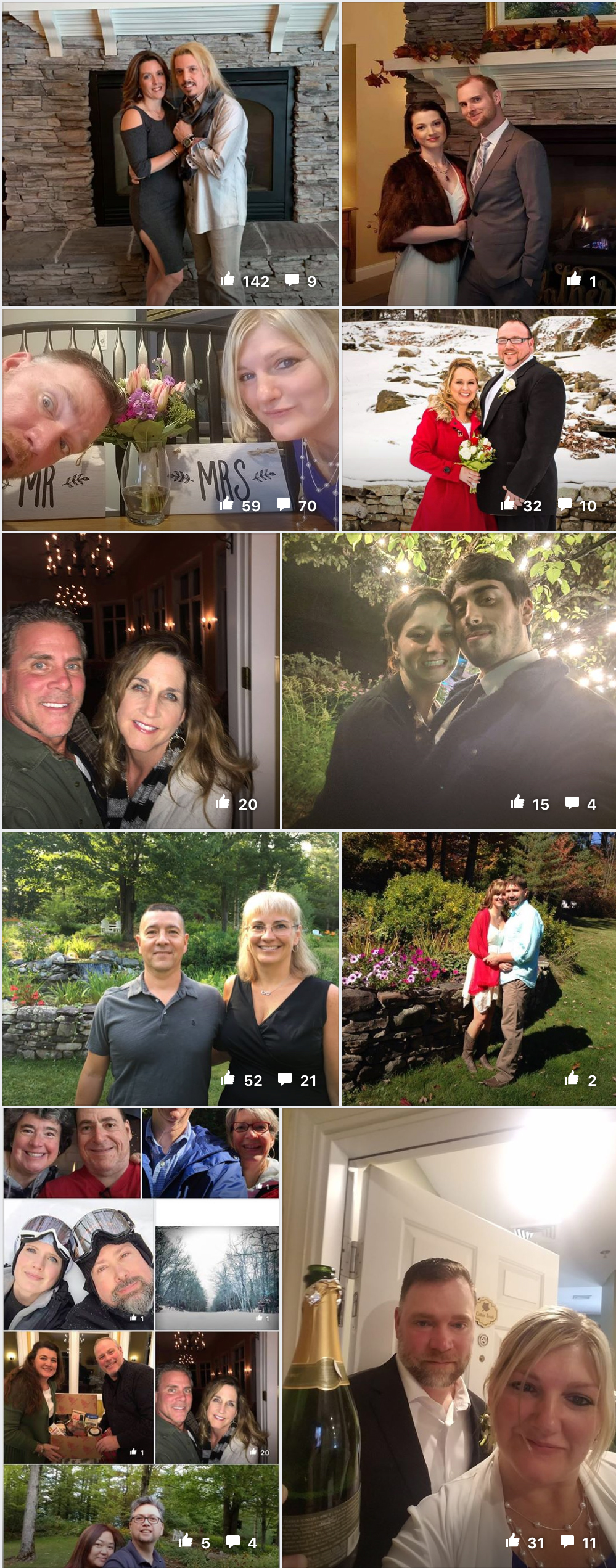 Stone Hill Inn Guest Selfie Pictures