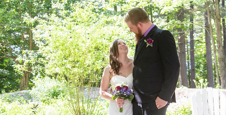 Stone Hill Inn Small Wedding in the Garden