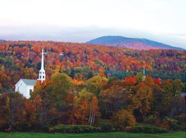 Stowe Vermont Fall Foliage