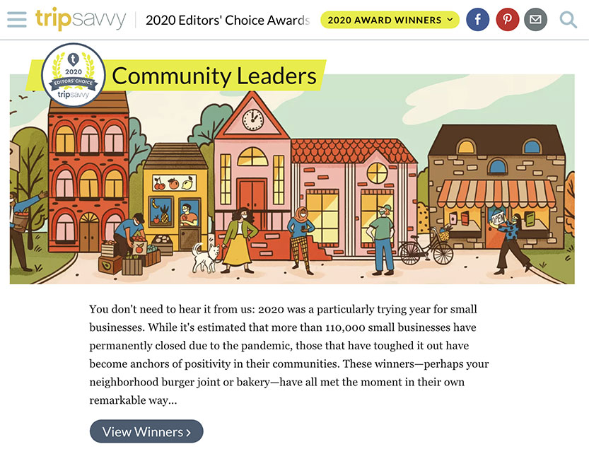 Trip Savvy Community Leaders 2020 Travel Awards
