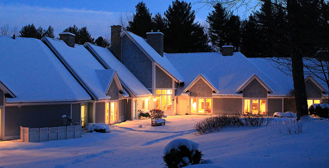 Romantic Getaway in Stowe, VT - Snow